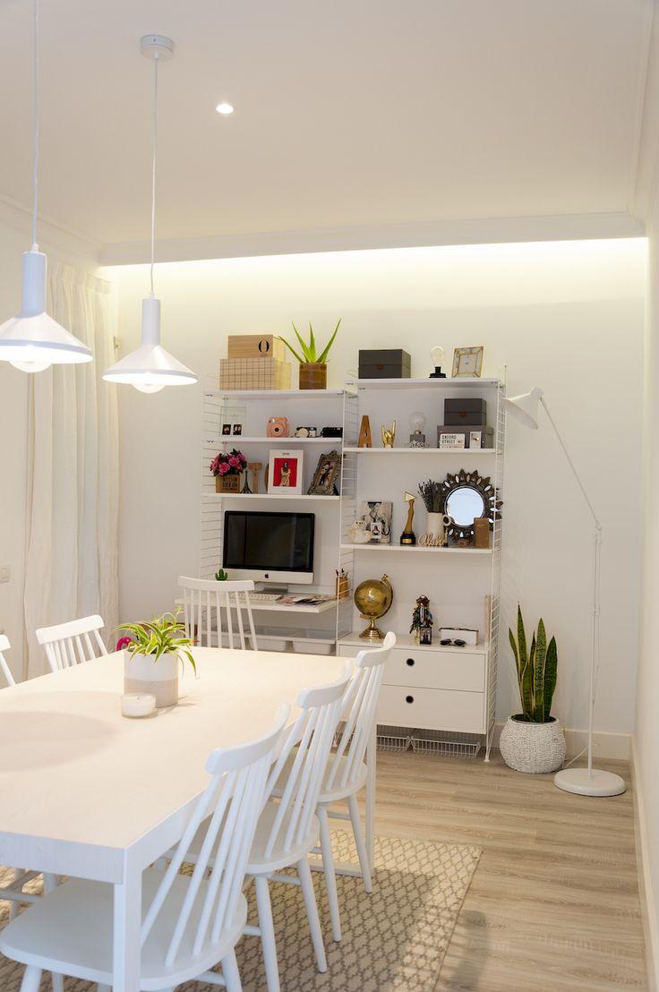 La Dulcehome, moderna y clásica a la vez. Colores neutros y blancos para una casa genial. ¡Dulceida quedó encantada! #design #nordicliving # inspiration