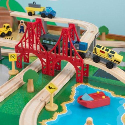 29 best Trains Sets & Train Tables images on Pinterest | Train table ...