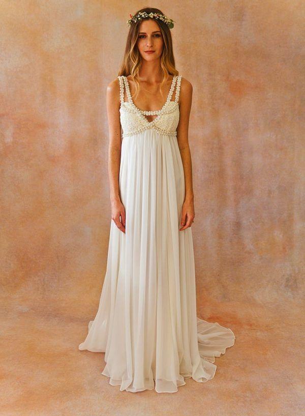 Vestidos de novia hippies 2016: fotos de los modelos Primavera Verano - Tendenzias.com