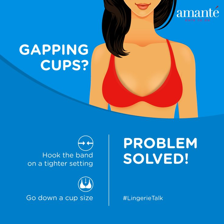 Wondering what's causing gaps in between your cups? Here's the solution on how to get rid of those gapping! #LingerieTalk