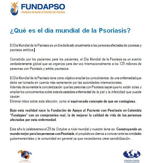 ¿Que es el día mundial de la psoriasis?