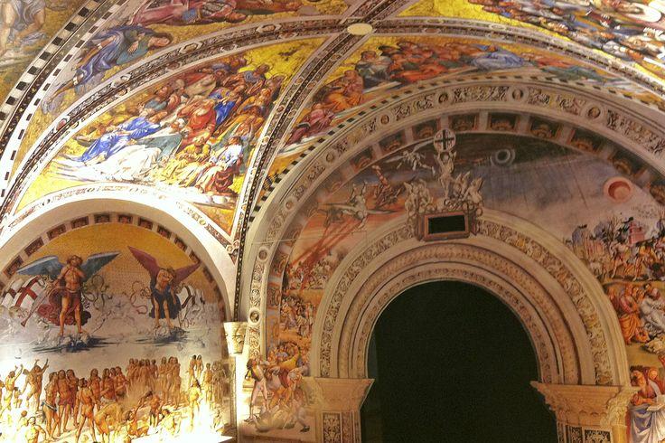 Graphica. – Casa esposizioni Illegio: Mostra di San Floriano, realizzazione rivestimento cupola a sesto acuto in scala ridotta