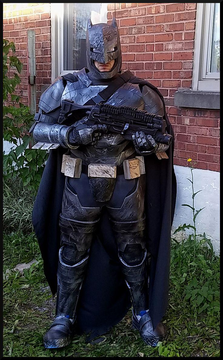 Batman armor gun suit BVS doj costume batman Mech vs superman cosplay batwill