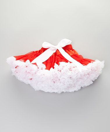 Take a look at this Christmas Pettiskirt - Infant, Toddler & Girls by Sweet Cheeks on #zulily today!