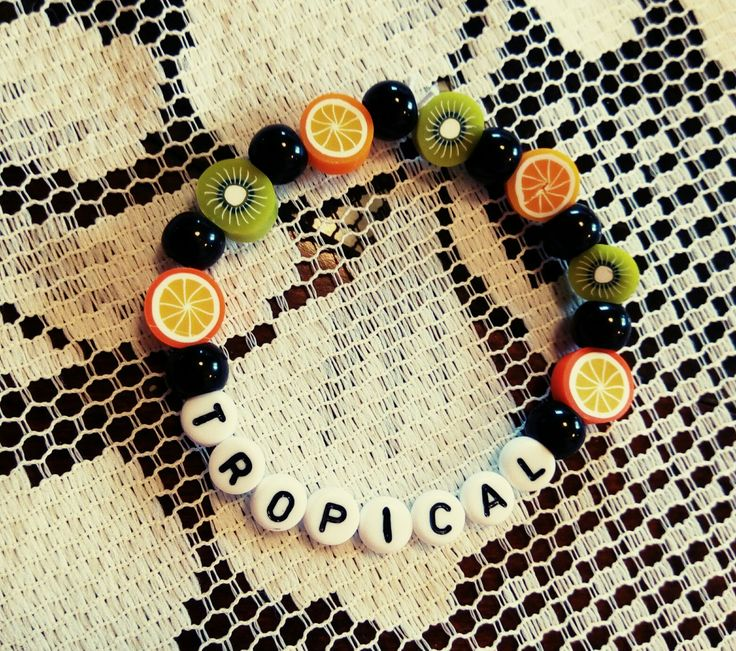 Tropical fruit kandi