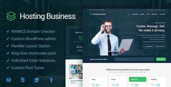 Hosting Business  – Technology, Software and Hosting WordPress Theme Free Download – #Business #Download #Free #Hosting #Software #Technology #Theme #…