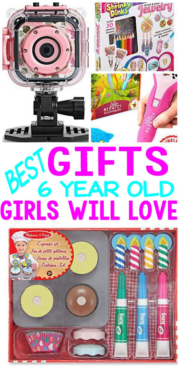 Gifts 6 Year Old Girls Best Gift Ideas For Girls 6th Birthday Christmas Holiday Or Christmas Gifts For 5 Year Olds 6 Year Old Christmas Gifts Girl Kid Gifts
