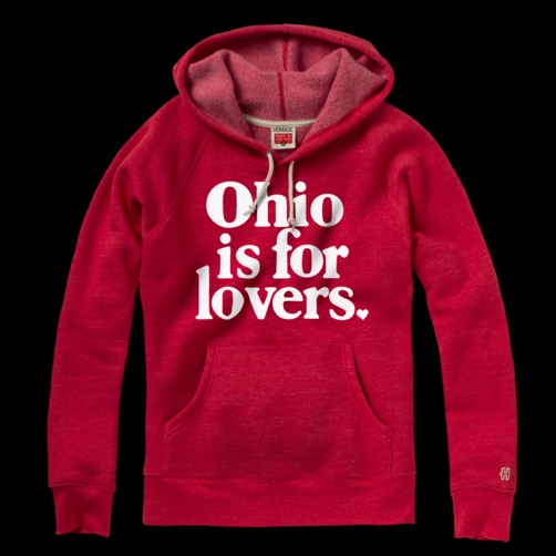 Ohio is for Lovers Hoodie - HOMAGE