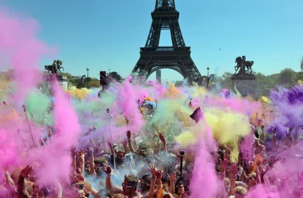 Paris, la carrera del color