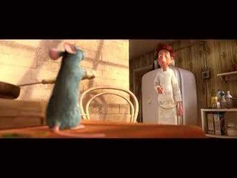 Ratatouile.  Totally awesome!  See this! http://renderman.pixar.com/view/lighting-food-in-ratatouille. https://www.lightwave3d.com/news/article/making-of-ratatouille-kitchen/ http://www.ronenbekerman.com/making-of-ratatouille-kitchen/  Ratatouile Lighting Challenge!  http://forums.cgsociety.org/showthread.php?t=1031069