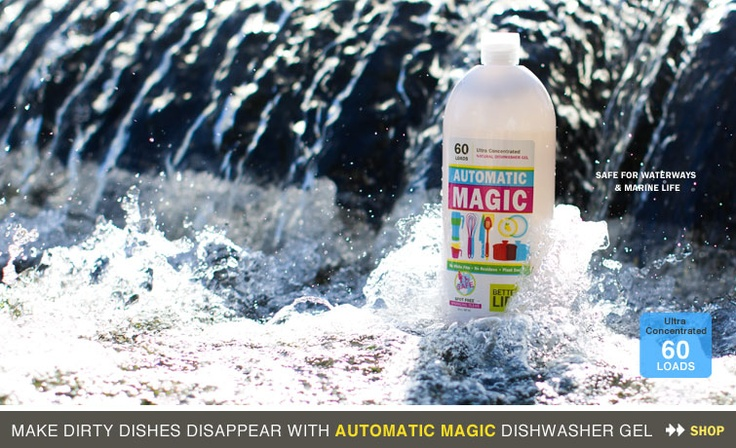 Automatic Magic Betterlifegreen Natural Cleaning Products Cleaning Better Life