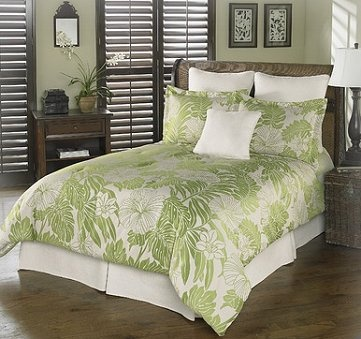 Chelsea Frank Group Palm Beach Tropic 7-Piece Comforter Set