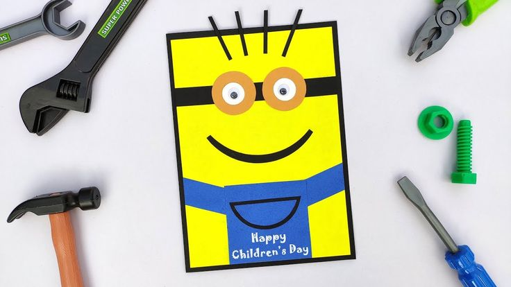 Childrens Day Card Easy Children S Day Greeting Cards Idea How To Ma Happy Children S Day Children S Day Greeting Cards Child Day