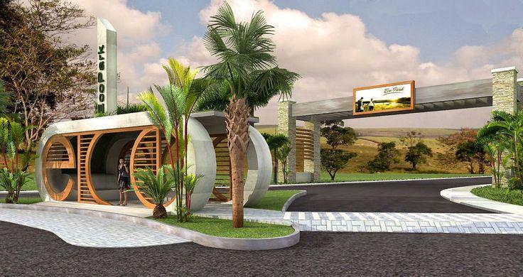 CasaEco Arquitetura e Design: Projeto do Condomínio Ecopark Bourbon - Caçapava - SP