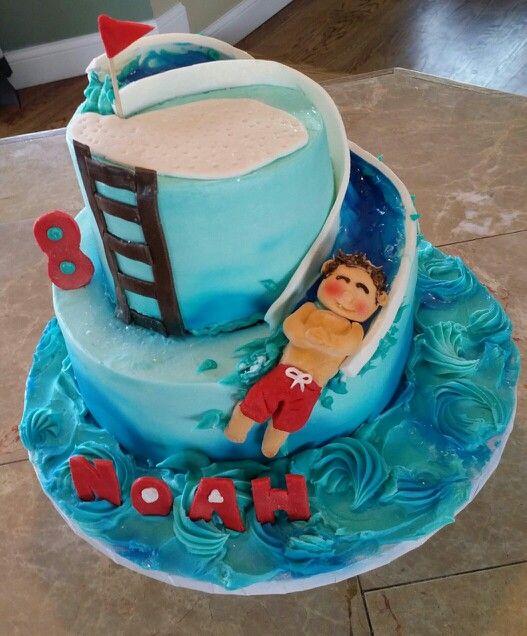 Waterpark cake