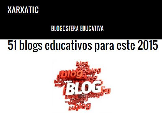 51 blogs educativos para este 2015 @xarxatic