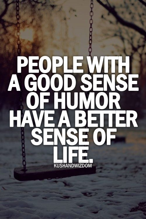 Better Sense Of Life.