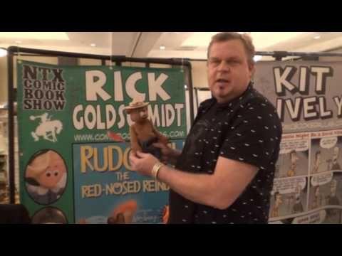 Original Smokey the Bear Visits Texas Comic Book Show