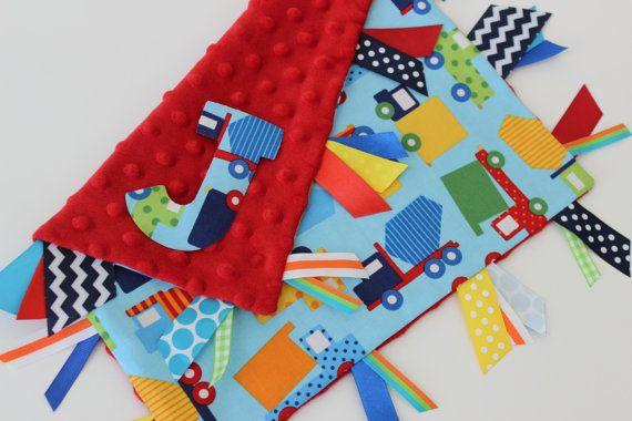 taggie deken aangepaste gepersonaliseerde baby door kristensfaves