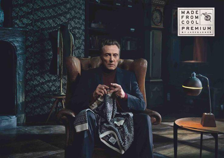 New Jack & Jones Campaign with Christopher Walken