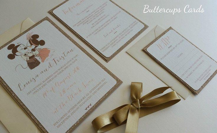 Wedding Invitations Disney: 25+ Best Ideas About Disney Invitations On Pinterest