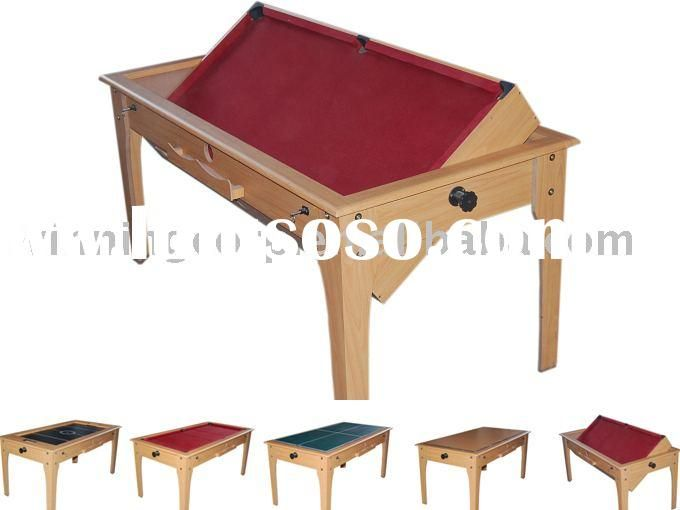 4 In 1 Multi Function Game Table, Air Hockey,pool Table,pingpong