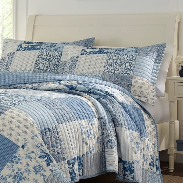 Overstock Com Online Shopping Bedding Furniture Electronics Jewelry Clothing More Quilt Sets Blue Cotton Quilt Set Quilt Sets