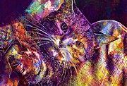 "New artwork for sale! - "" Cat Supine Position Crawl Hand  by PixBreak Art "" - http://ift.tt/2vWyMTu"