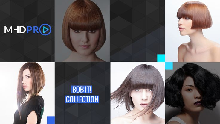 Learn how to cut a bob haircut like Katie Holmes, Taylor Swift, Hillary Duff and Jourdan Douff. Watch the Bob It! online hairdressing course on MHDPro.