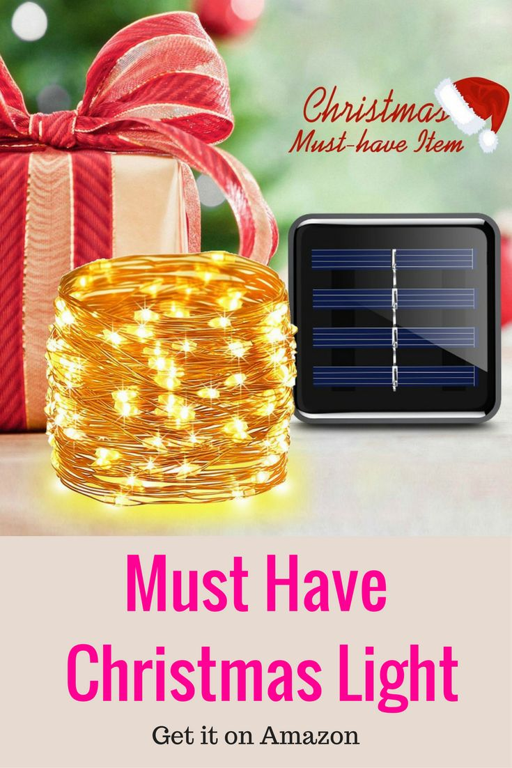 AMIR Solar Powered String Lights, 100 LED Starry Fairy Lights, 10 Meters, Waterproof 1.2 V Portable with Light Sensor for Patio, Garden, Home, Wedding, Pathway, Party Decorations (Warm White) christmas lights outdoor | christmas lights | christmas lights outside | christmas lights in the bedroom | christmas lights outdoor house | Christmas Lights, Etc | We Hang Christmas Lights | Christmas Lights Shop | Christmas Lights, NOT just for Christmas | Christmas Lights | Christmas lights |