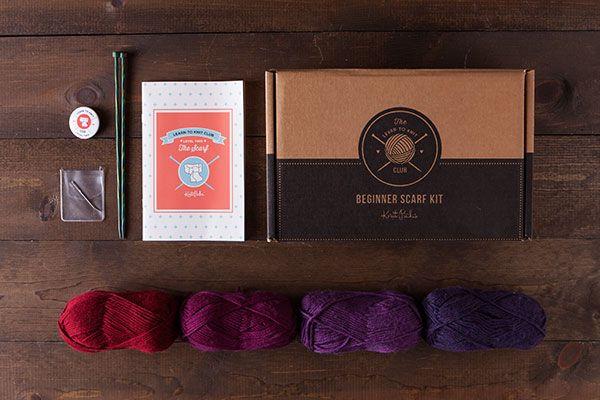 Learn to Knit Club, Level 2: Scarf - Jewel  *Afflink*