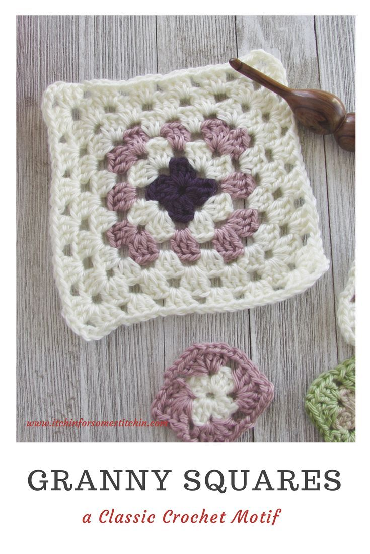 How To Crochet Basic Granny Squares All Things Crochet Crochet