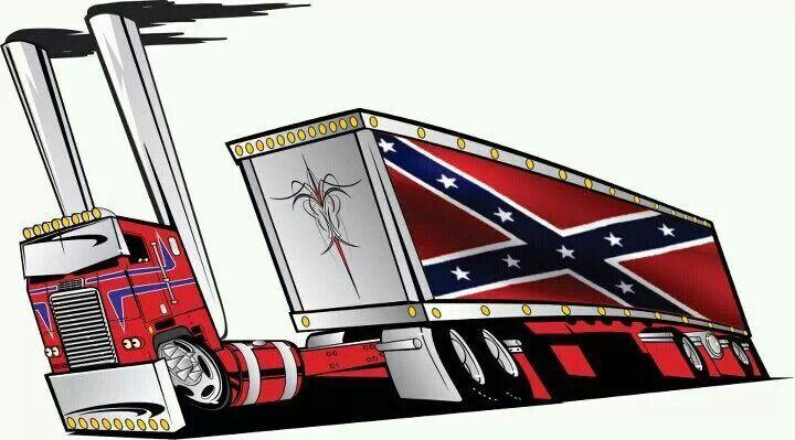 Peterbilt Fink Cartoon Rat Truck