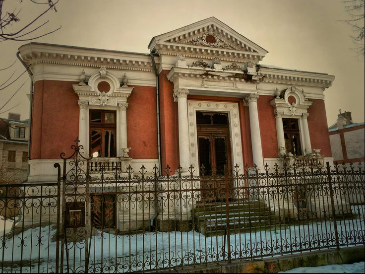 House on Popa Rusu Street from Bucharest, Romania