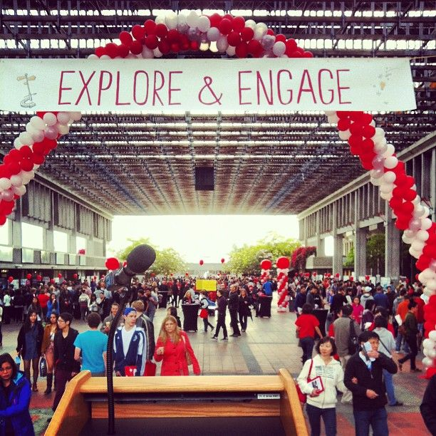 Explore & Engage. Photo by @thekrumpnesss #SFU