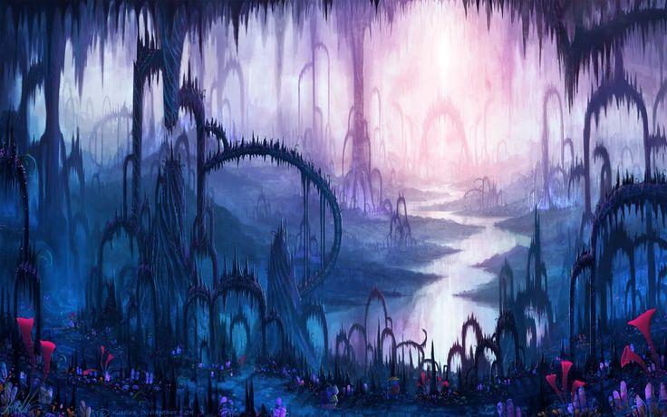 Mysterious World by Kiarya on DeviantArt | Fantasy art ...