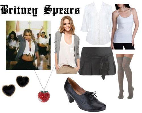 Britney Spears Halloween costume