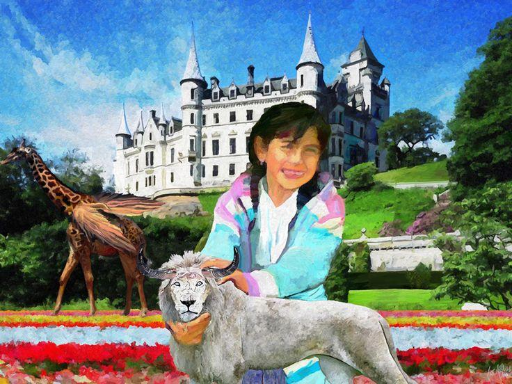 Surrealism-La petite Anne