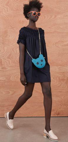 Shirred Shoulder Dress 'Domestic Fantastic' Resort Collection http://sistersandco.co.nz/products/kwshirredshoulderdress