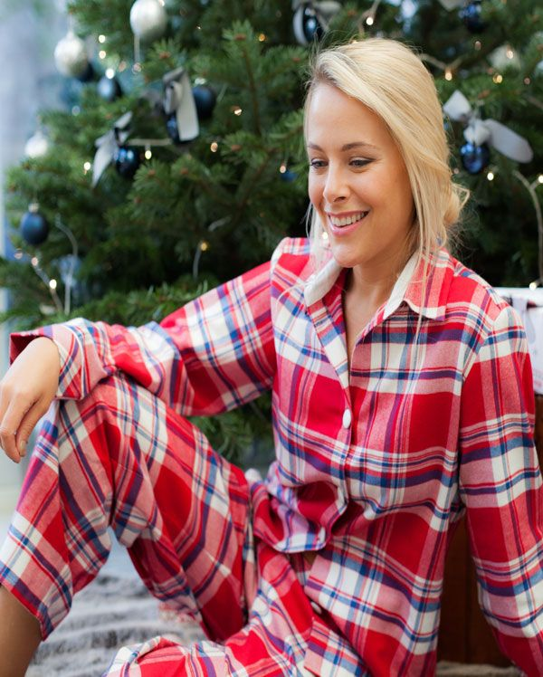 Michele Twill Brushed Check Pyjamas