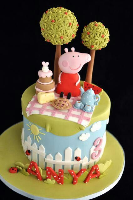 It's Peppa Pig! My girls would flip over this, they love Peppa :)