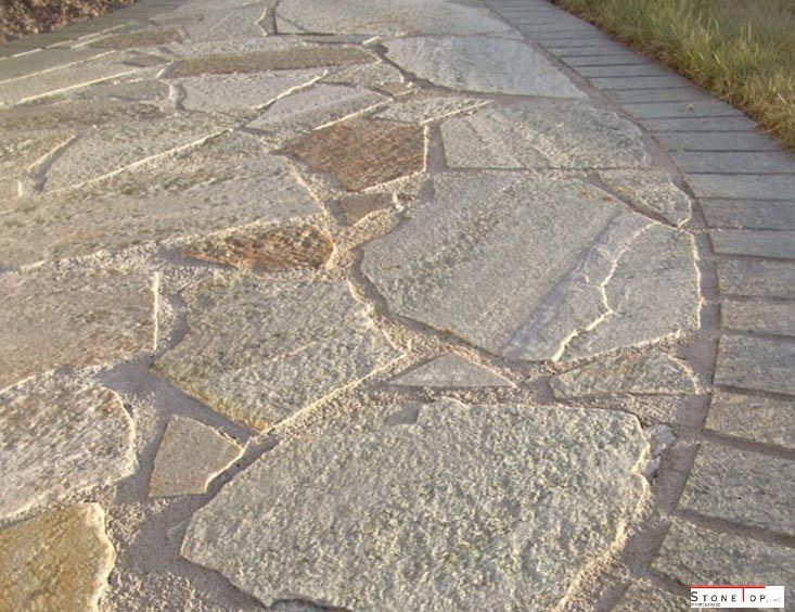Flagstones are very much similar to other natural stones like granite, marble and limestone,