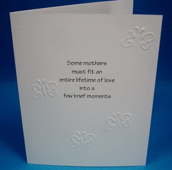 Writing a sympathy card for loss of a child