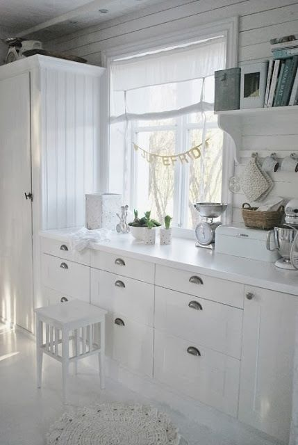 Drawers in the kitchen are more handy than normal cabinets, you can easily take something out.