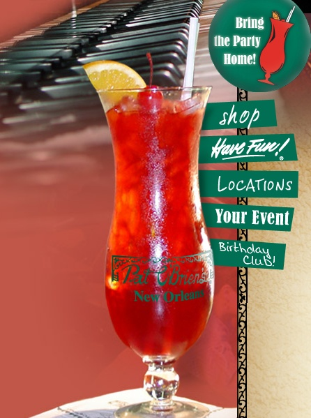 Pat O' Brien's: Hurricane drink - New Orleans, LA