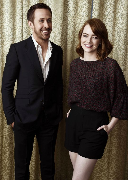 Ryan Gosling and Emma Stone photographed by Chris Pizzello (2016)