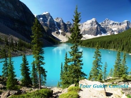 Moraine Lake in Banff N.P.