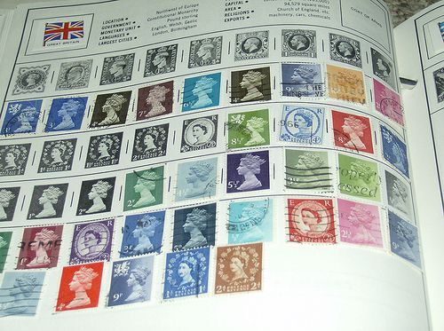 Stamp collecting. I still have my stamp collection in the loft. Nothing of any real value. but a lot of memories.memories. Swooping at school.