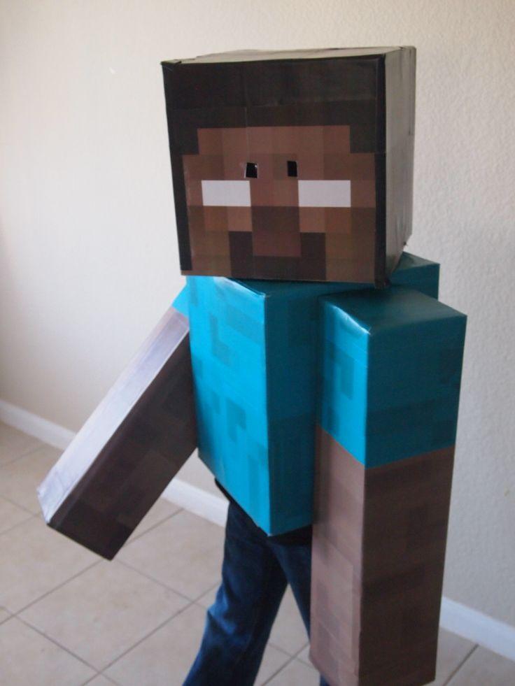 Herobrine Minecraft Halloween Costume