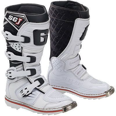 Gaerne SG-J YOUTH Motocross DIrt Bike Motorcycle Boots Size 3 White